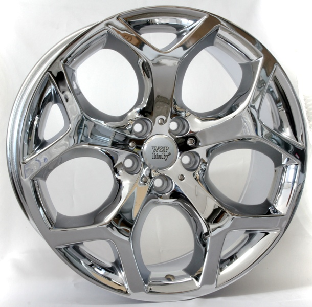 Replica Ford A-5555 R16 PCD 5x108 ET 35 DIA 63.4 W 7.0 Chrome