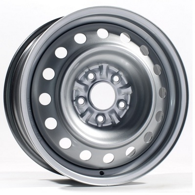 Штамповка AS-41557 R15 PCD 5x100 ET 38 DIA 57.1 W 6.0 Silver